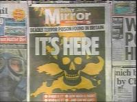 Infamous ricin scare newspaper coverage