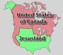 Jesusland land for bioterror vaccination?