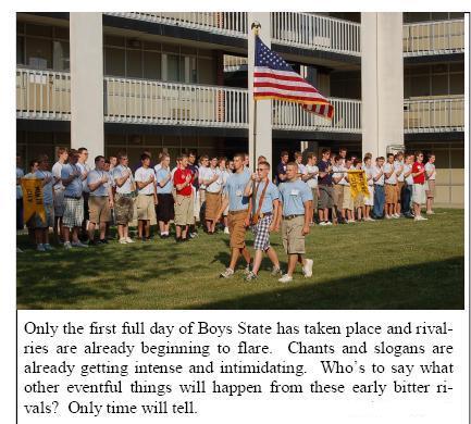boys state essay